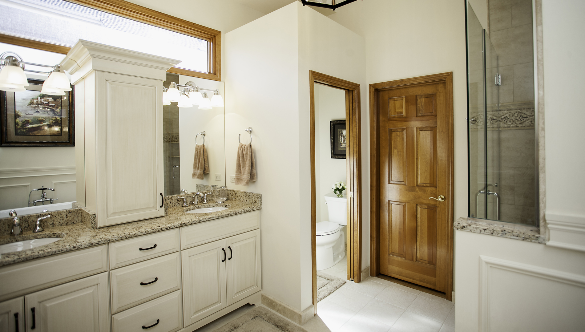 Custom Bathroom Vanities With Towers rest & relaxation at white eagle