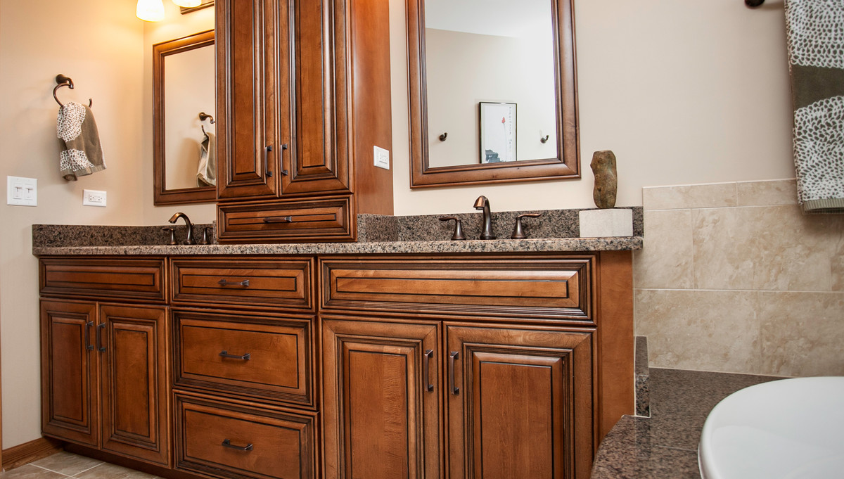 Custom Bathroom Vanities Naperville masterful grandeur in plainfield