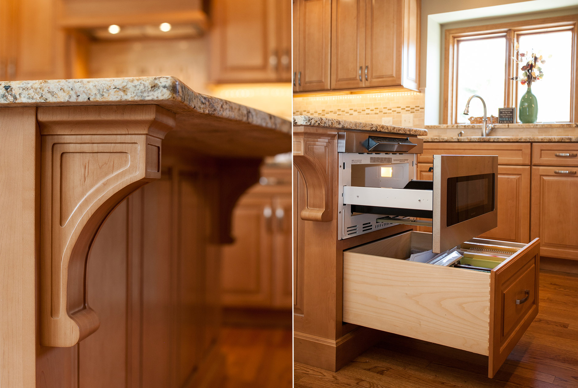 Custom Amish Cabinetry in Breckenridge Estates