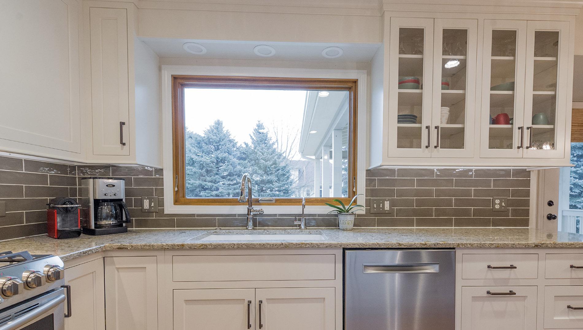 Carefree design in aurora s oakhurst Kitchen design and remodeling aurora