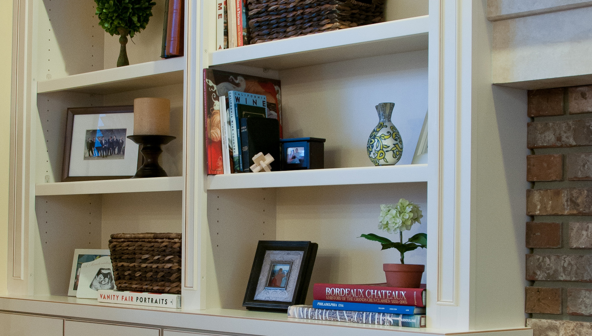 The Bookcases In This Naperville Family Room Were Designed To Flank Both  Sides Of The Fireplace.