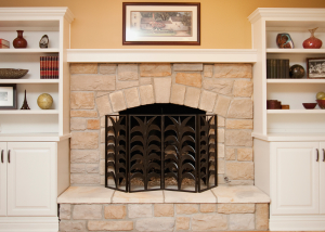 Custom Built Fireplace Naperville
