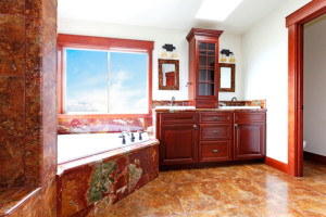 Remodeled bathroom in Naperville