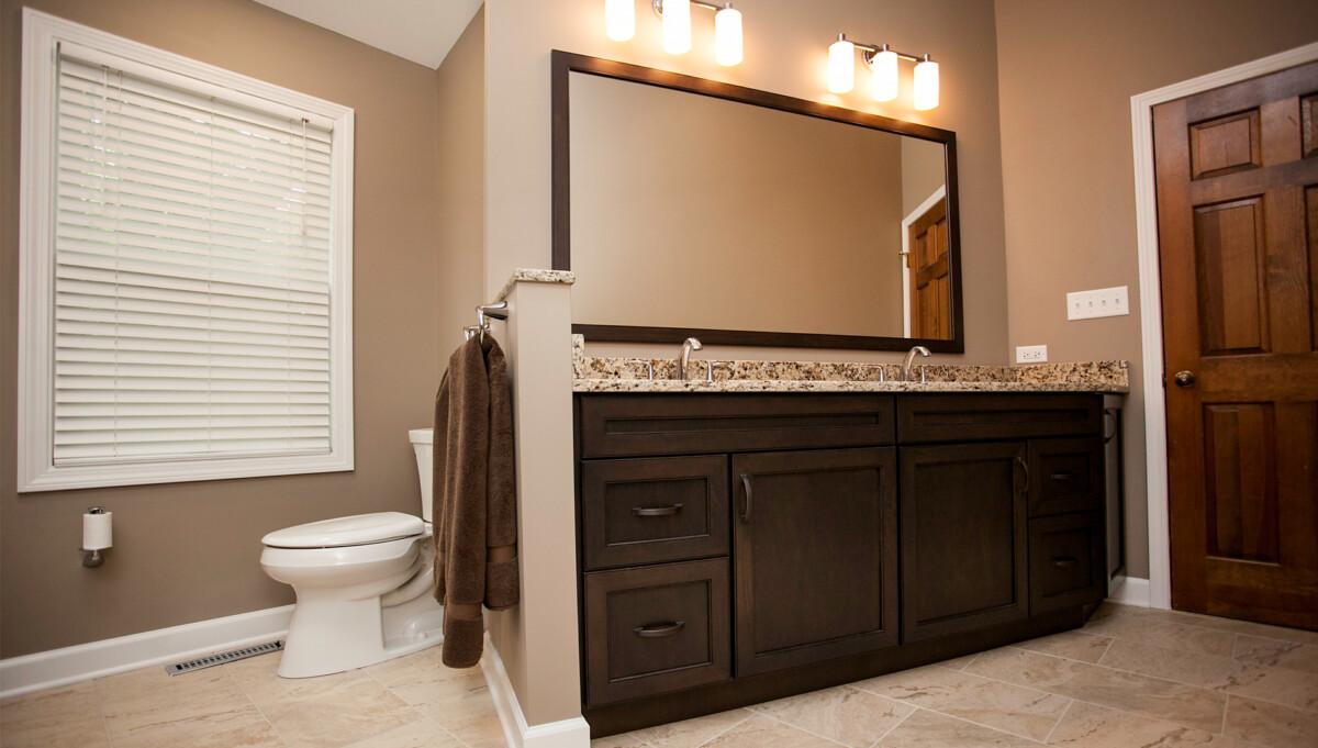 Modernized Master Bathroom Designing Amp Remodeling Naperville